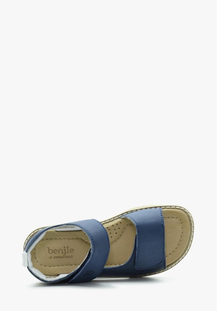 Kinder Jungs Leder Sandale