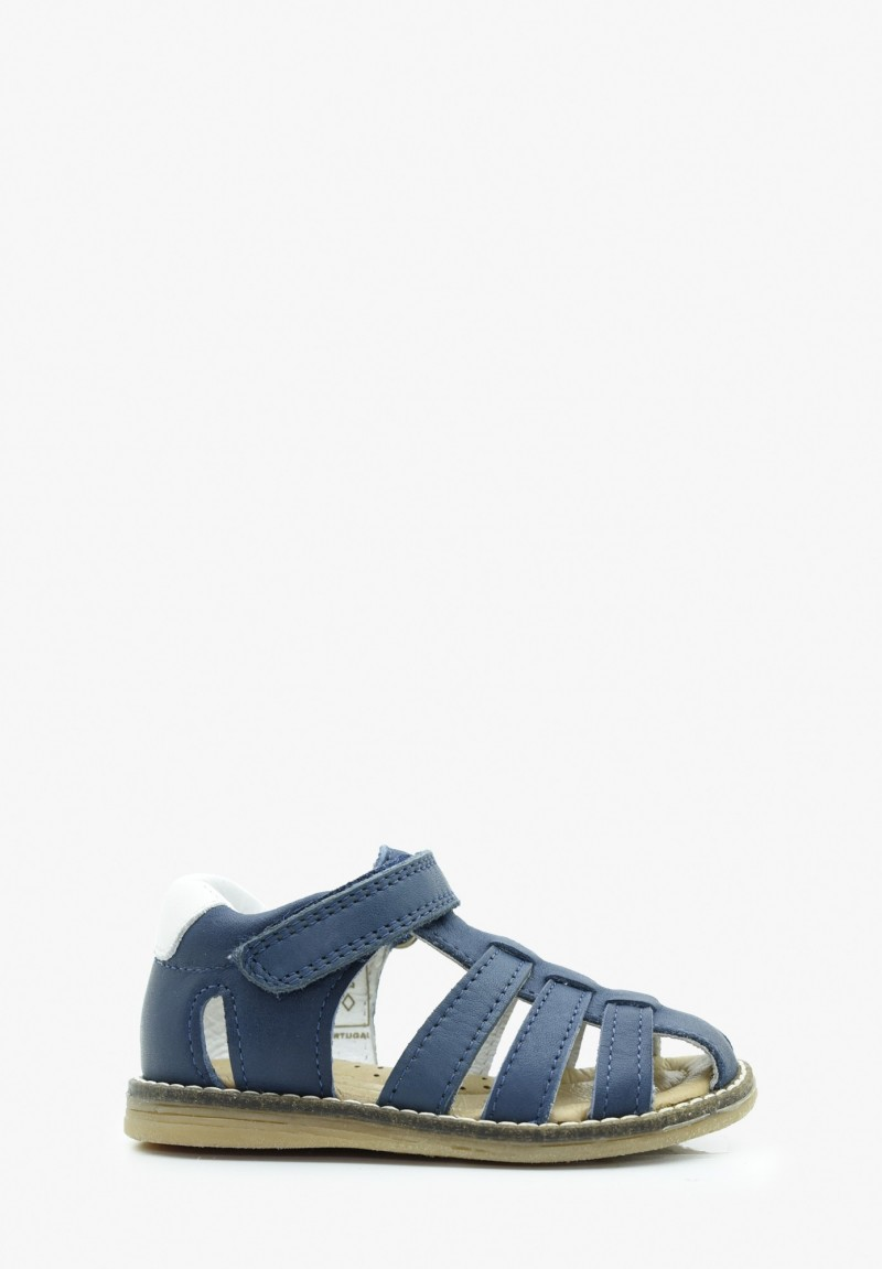 First steps Boy Leather Sandals