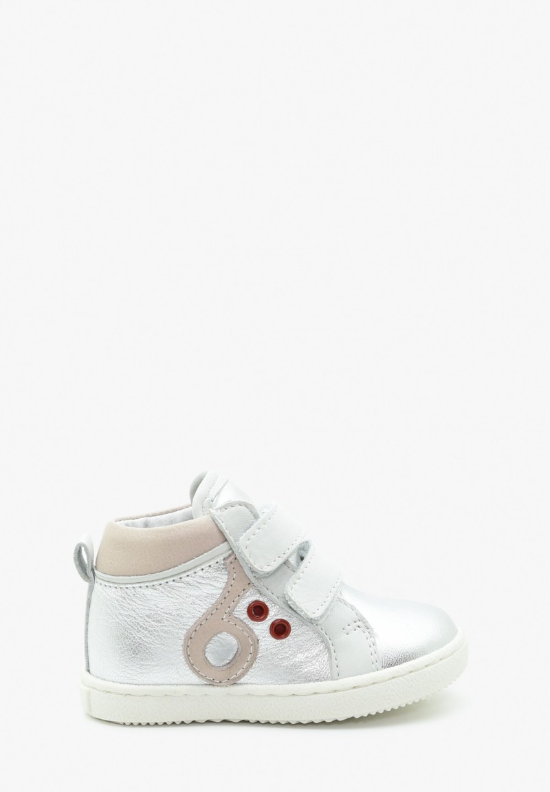 First steps Girl Leather Sneakers
