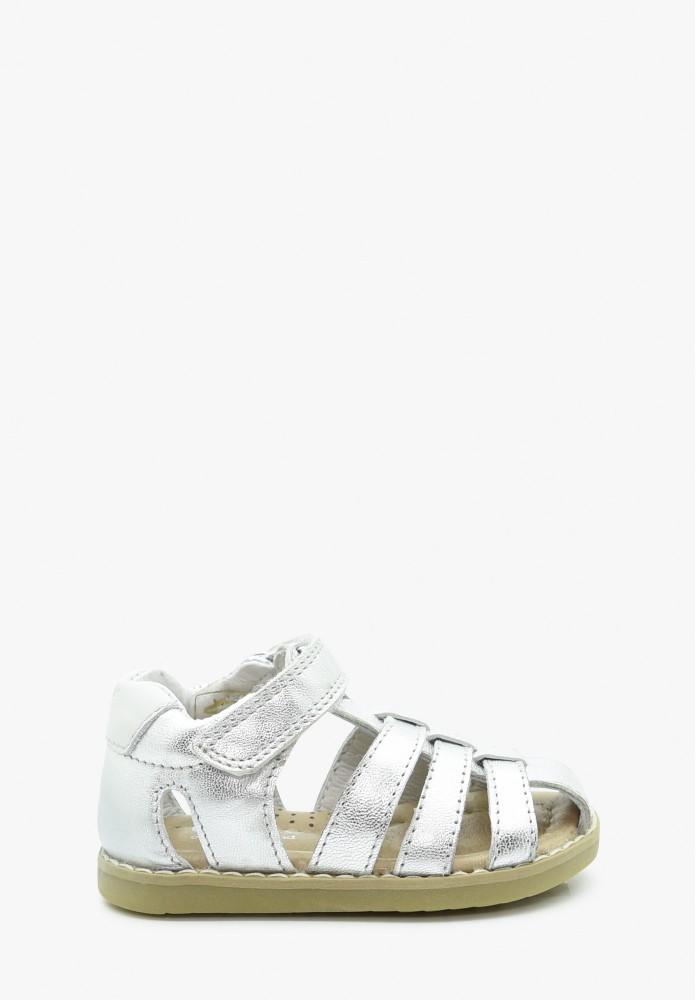 erste Schritte Mädchen Leder Sandale