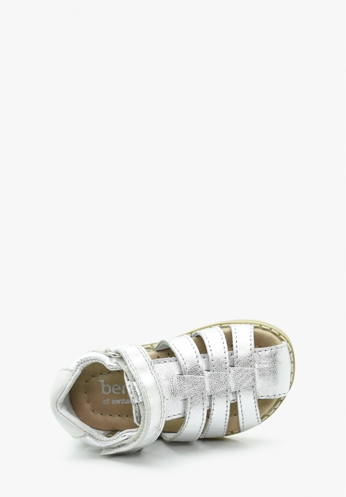 First steps Girl Leather Sandals