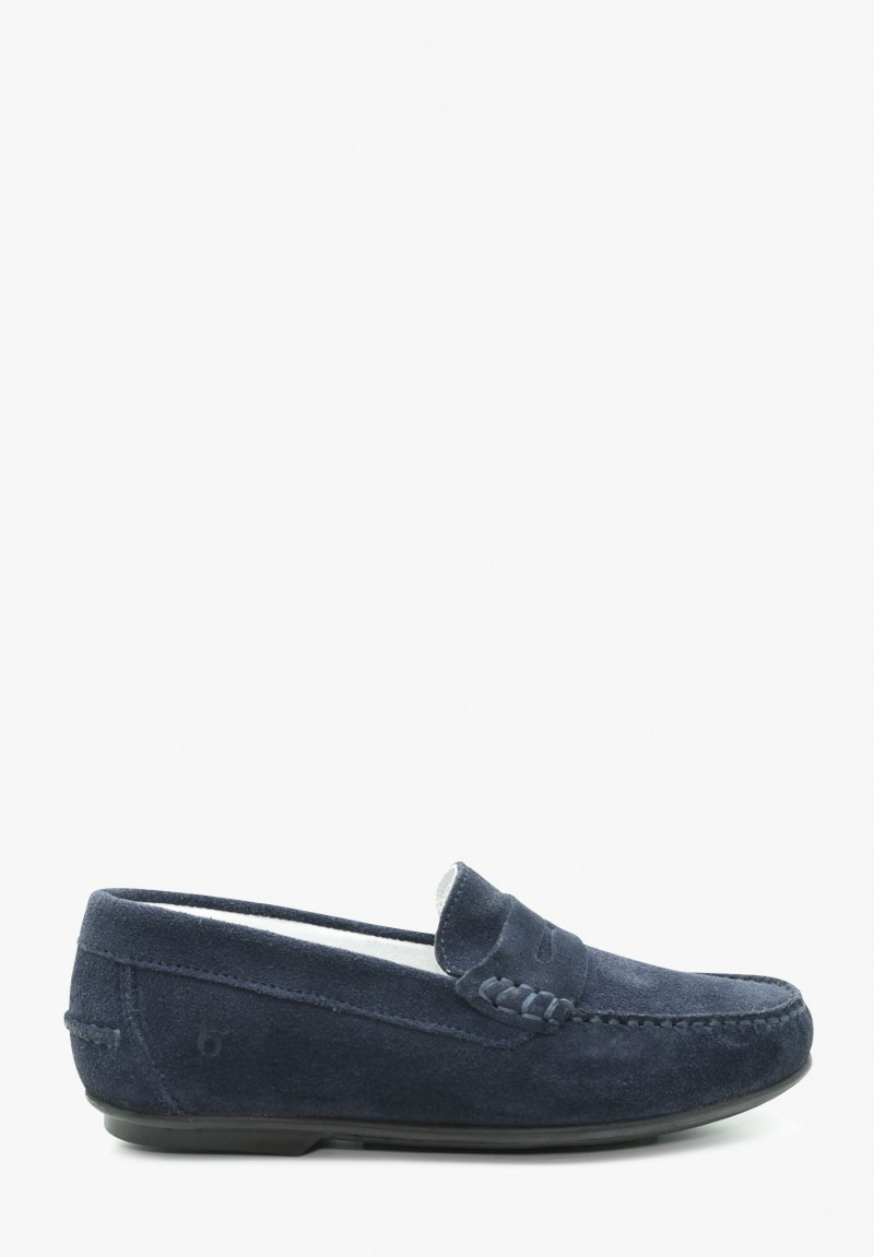 Junior Boy Leather Loafers