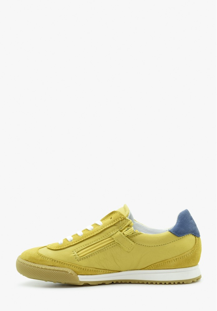 Junior Boy Leather Sneakers
